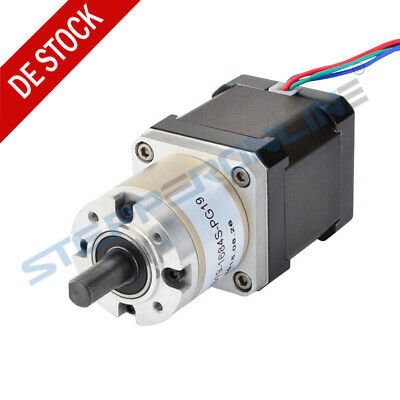 19:1 Planetengetriebe High Torque Nema 17 Stepper Getriebemotor 1.68A 3D Printer