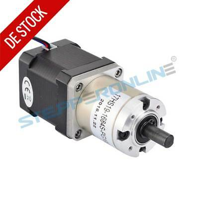 1PC 100:1 Planetary Gearbox High Torque Nema 17 Stepper Motor 1.68A 3D Printer