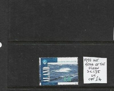 Aland 1998 Year of the Ocean issue MNH