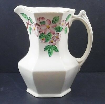 Vintage Ringtons Maling Ware Floral Irridescent Jug, Newcastle-on-Tyne, England