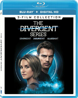 The Divergent Series 3-film Collection [New Blu-ray] 3 Pack, Ac-3/Dolby Digita