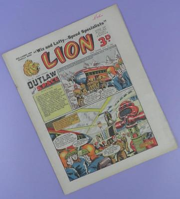 The Lion Comic Story Paper Comic #22, 19th July 1952 - Early Issue