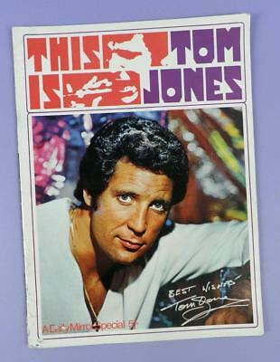 This Is Tom Jones 1969 Daily Mirror Special 5 Shilling Souvenir