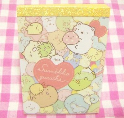 San-X Sumikko Gurashi Mini Memo Pad / Japan Stationery 2018