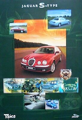 Jaguar S Type Original Showroom / Factory Poster Manifesto 42 x 30cm 1999