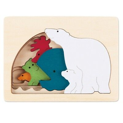 George Luck - Polar Puzzle Puzzle from Hape (E6517)