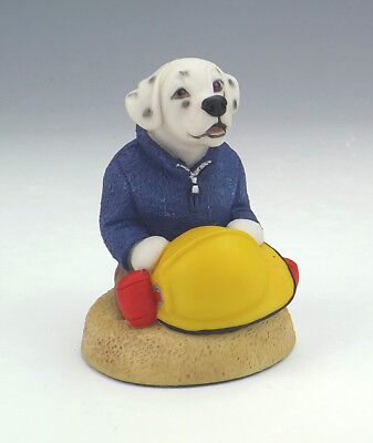Robert Harrop Collector's Club - Dalmatian Fireman - Unusual!