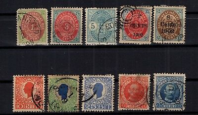 Bp93304/ Antilles Danoises / Danish West Indies / Lot 1873 - 1907 Used 196 €