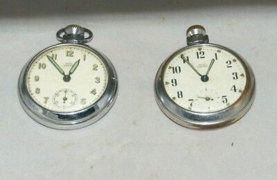 2 x Antique/Vintage Smiths 'EMPIRE' Pocket Watches, Spares/Repair