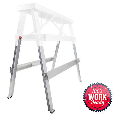 OPEN BOX - Adjustable Extension Legs for Drywall Bench Sawhorse Step Ladder