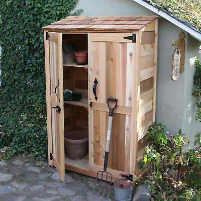 Outdoor Living Today Garden Chalet 4 ft. W x 2 ft. D Wooden Lean-To Tool Shed