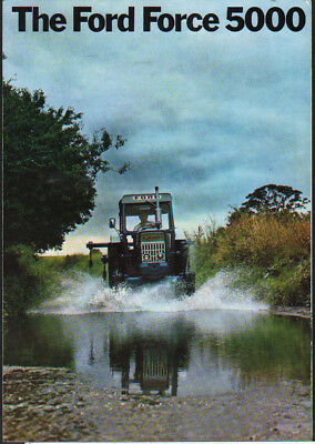 "Ford Force ""5000"" Tractor Brochure Leaflet"