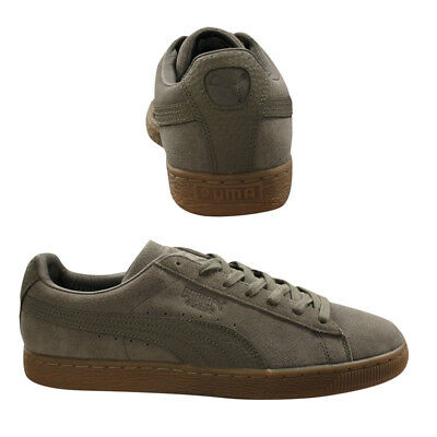 Puma Suede Classic Natural Warmth Lace Up Mens Trainers Falcon 363869 01 Q1