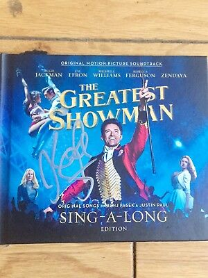 The Greatest Showman Signed  Keala Settle Cd Sing-A-Long Edition-Proof Provided
