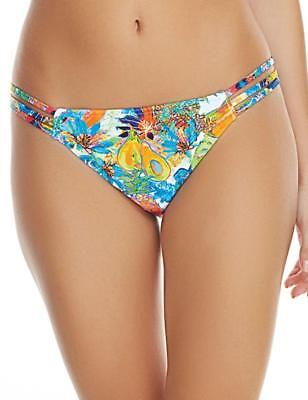 4c1788d593 Freya Island Girl Bikini Tanga Brief Size M L 12 14 16 White Tropical 2984  New
