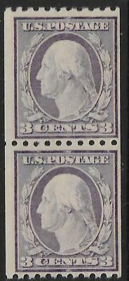 United States stamps 1908 YV 169 Vertical PAIR Perforation 10 MNH VF