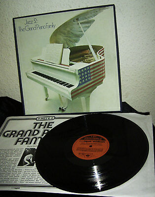 V/A JAZZ 2 - THE GRAND PIANO FAMILY * 5 LP BOX BOOKLET * CBS SPECIAL 1976 NL nm