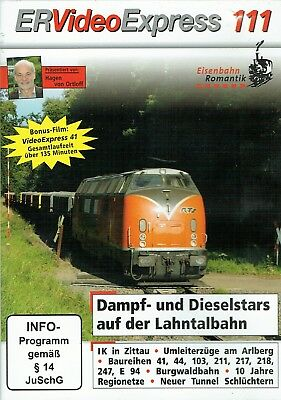 ER Video Express 111 - DVD - Eisenbahn-Video
