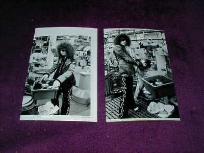 Marc Bolan Photo X 2 (At The Emi Record Plant) ,t.rex