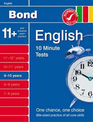 Bond 10 Minute Tests English 9-10 years, Lindsay, Sarah, Used; Good Book