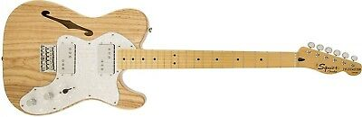Fender Squier Vintage Modified 72 TELE Thinline Natural Finish Electric Guitar