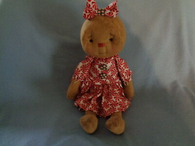 Primitive Winter Christmas Gingerbread  Doll