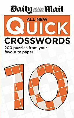 Daily Mail All New Quick Crosswords 10 (The Daily Mail Puzzle B... by Daily Mail