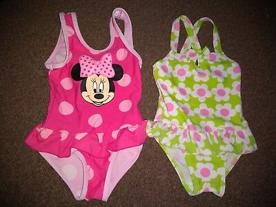 Baby Girls 2 Gorgeous Swimsuits 9-12 Months