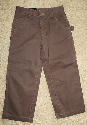 NWT 1st First Wave Brown Pants Size 4 4T