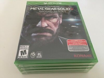 Metal Gear Solid V: Ground Zeroes (Microsoft Xbox One, 2014) XBOX ONE NEW