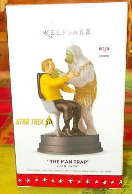 "Hallmark 2016 Star Trek ""The Man Trap"" Orn.  New in Package Free Shipping"