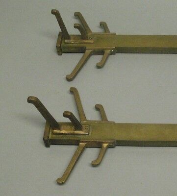 Fine Pair of ARTS & CRAFTS Prairie Style Coat Racks from Historic Home  c. 1910+