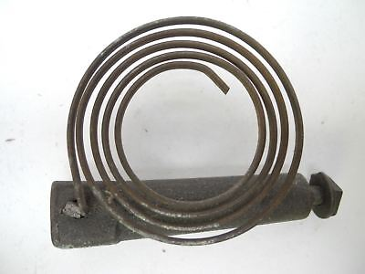 "Antique Vintage Clock Chime Gong Spring with 2.75"" Mounting Bolt"
