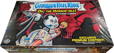 Garbage Pail Kids 2018 Series 2 Oh The Horror-ible Sealed Hobby Collectors Box