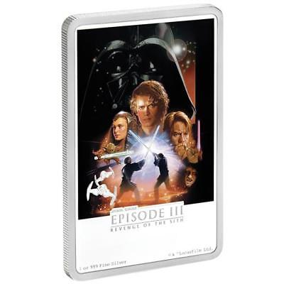 Niue Islands 2 1 Oz Silber Star Wars Die Rache Der Sith Posters
