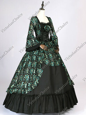 Renaissance Noel Holiday Ball Gown Fairytale Theatrical Dress Costume N 133 XXL