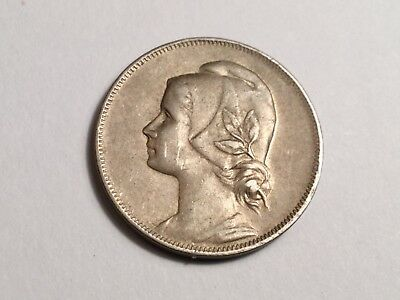 PORTUGAL 1917 4 Centavos coin excellent condition