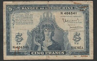 5 Francs From Noumea