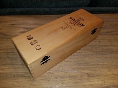 Macallan 21 Years Old Triple Cast Matured Presentation Box. used, very good