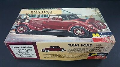 Monogram 1934 Ford Coupe Cabroilet 1/24 G2