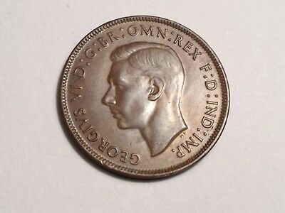 AUSTRALIA 1943Y. 1 Penny coin extra fine condition