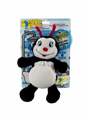 Soapets Plush Bathing Toy ~ Fun Colorful Characters To Wash Kids Clean ~ #3 Mimi