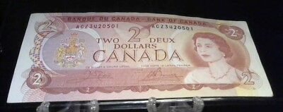 1974  Canada 2 Dollar Bank Note