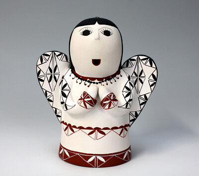 Cochiti Pueblo Native American Indian Pottery Angel - Vangie Suina