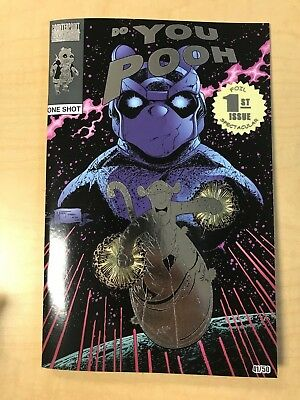 Do You Pooh Silver Surfer #50 Ron Lim Homage FOIL Variant Cover Marat Mychaels