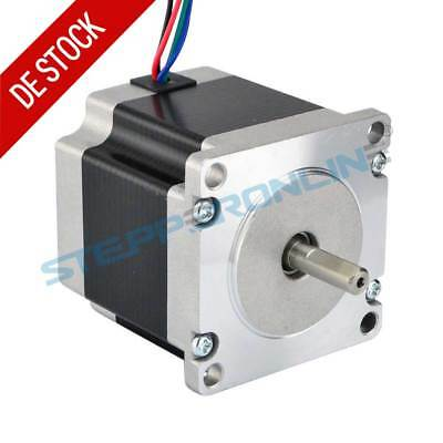 Nema 23 Schrittmotor 1.16Nm 1.5A 57x56mm 4 Wires Φ6.35mm CNC Mill Lathe Router