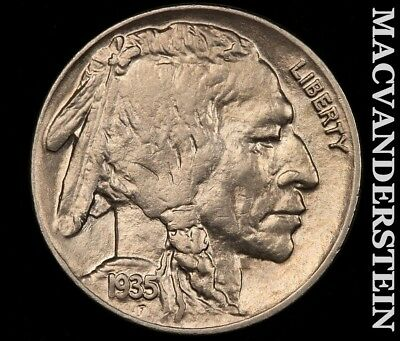 1935 Buffalo Nickel-Uncirculated!! Luster!!  #d909