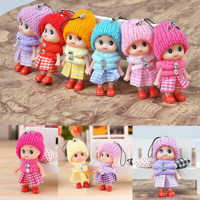 5 Pcs Kids Toys Soft Interactive Baby Dolls Toy Mini Doll Cute Gift For Girls