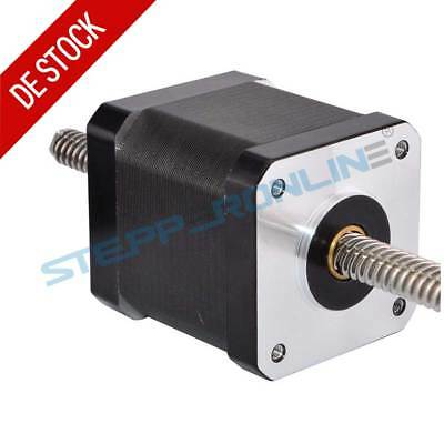 Nema 17 Non-captive Linear Stepper Motor 1.8 deg 1.68A Lead Screw Length 200mm