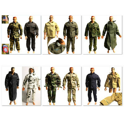 Lot 28Pcs 21st Century toy Germany WWII Soldier 1/6 Ultimate dress clothes gift